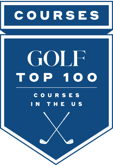 Golf Top 100 Courses in the United States