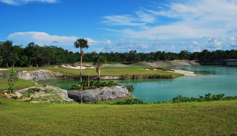 Golf course at Cancun Country Club