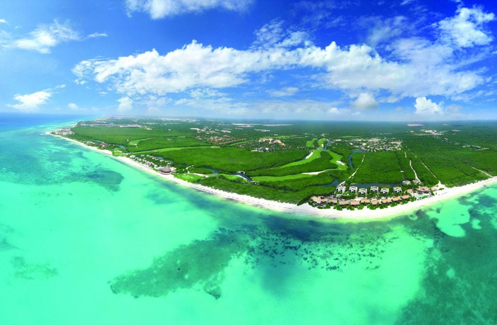 El Camaleon Mayakoba Golf Course in Cancun