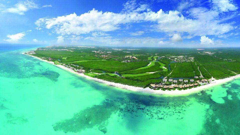 El Camaleon Mayakoba Golf Course in Cancun