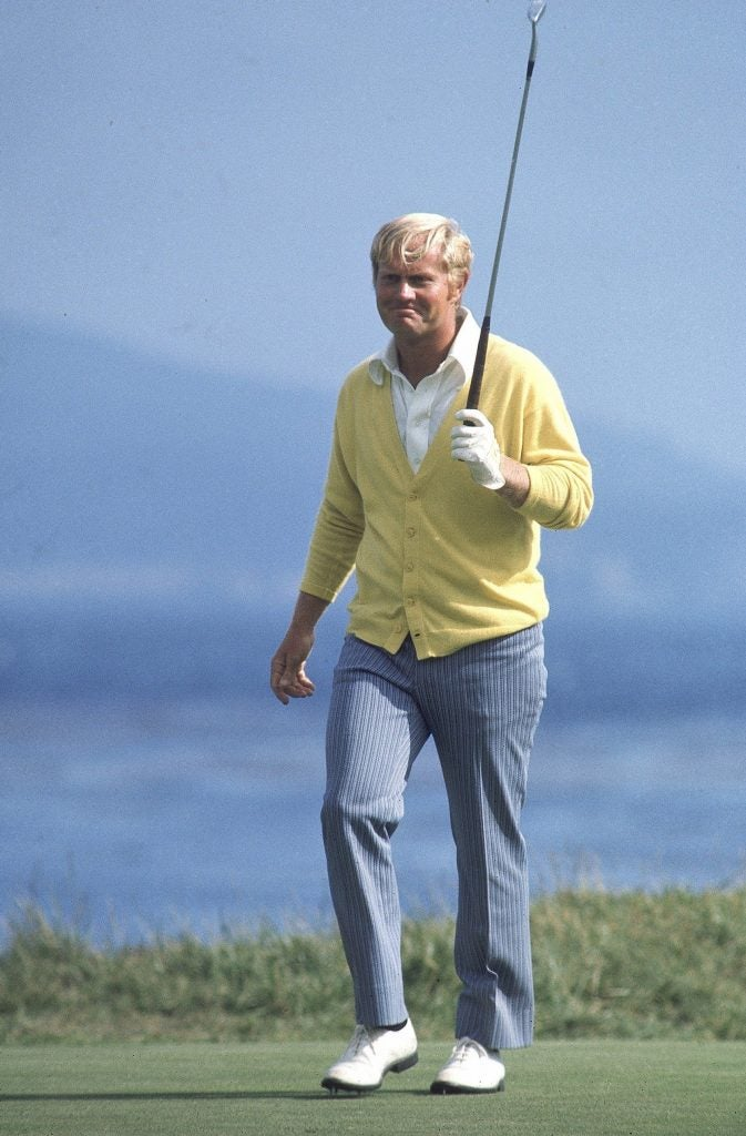 Jack Nicklaus at the 1972 U.S. Open