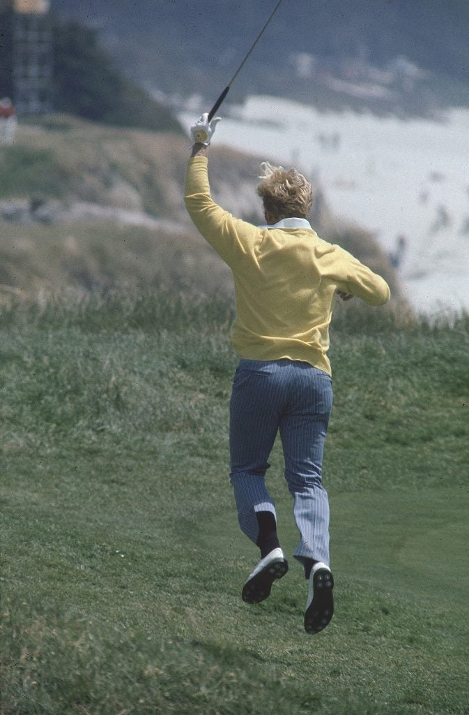Jack Nicklaus at 1972 U.S. Open