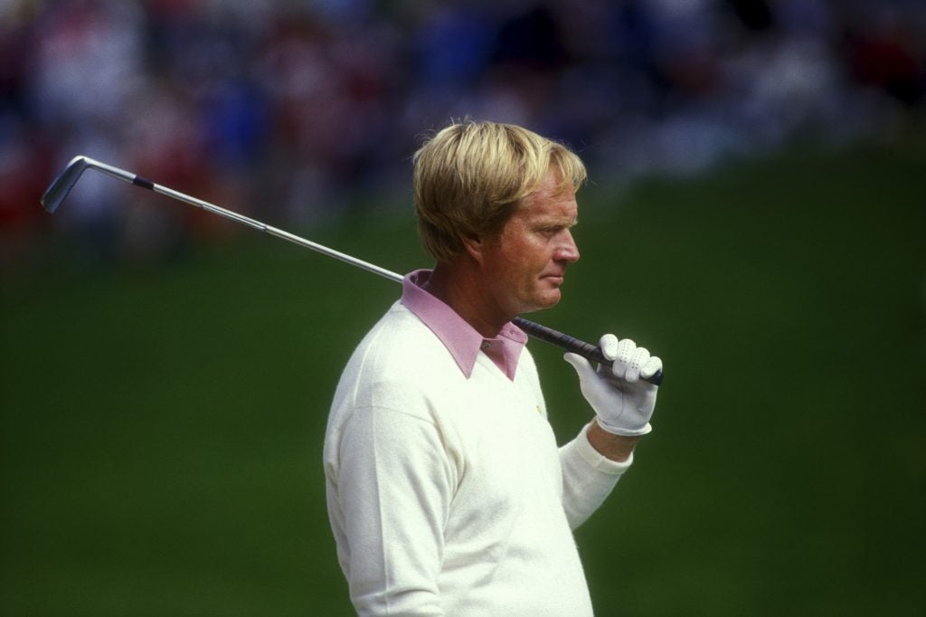 Jack Nicklaus 1987 U.S. Open