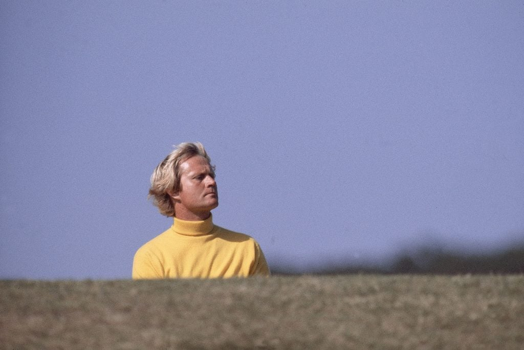 Jack Nicklaus at the 1978 British Open