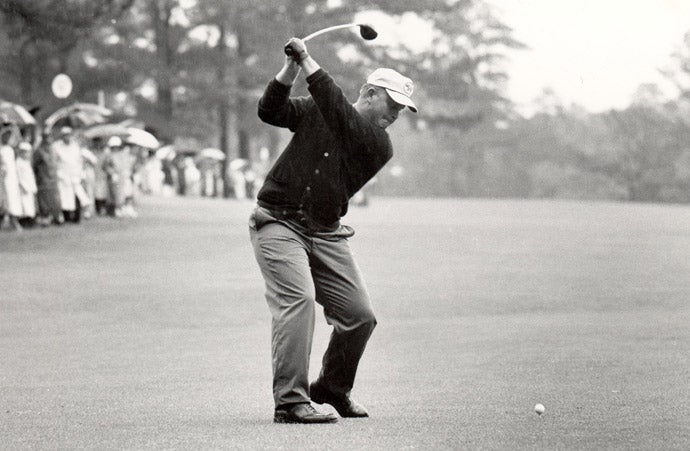 Jack Nicklaus at 1963 Masters