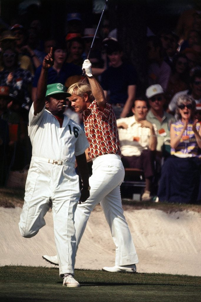 Jack Nicklaus at the 1972 Masters