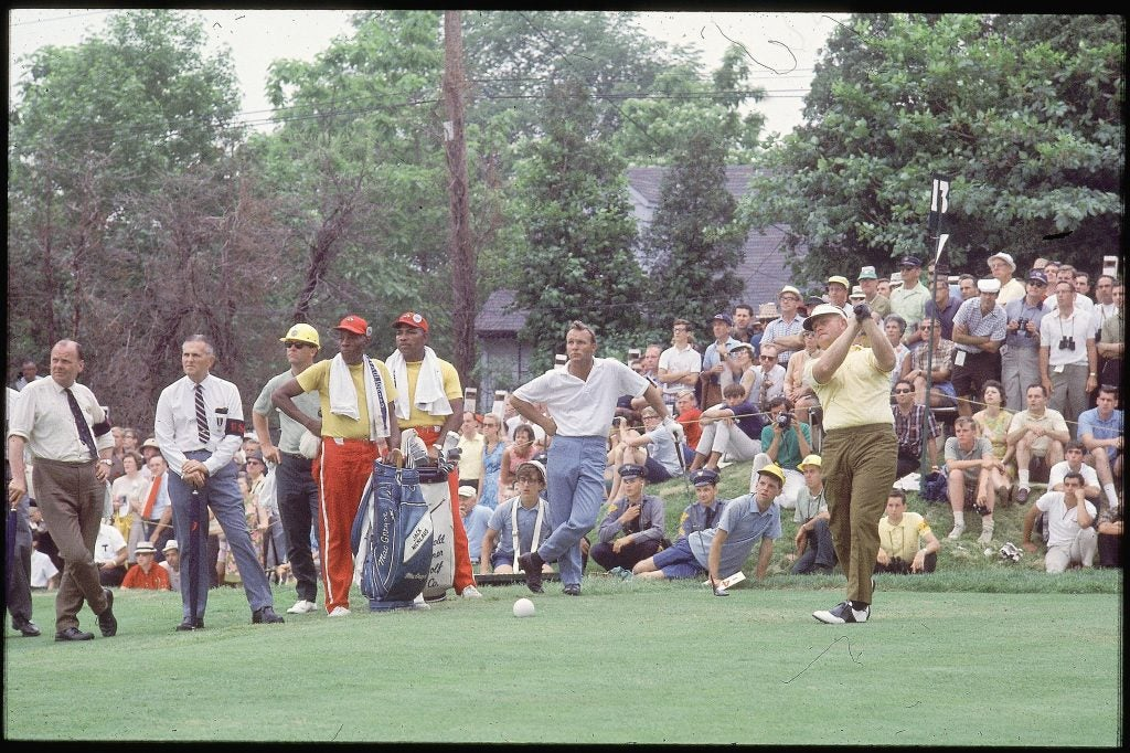 Jack Nicklaus at 1967 U.S. Open
