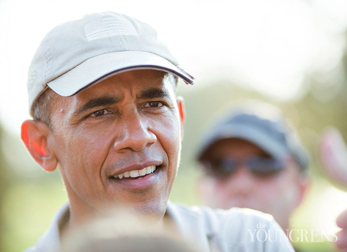 president obama visits torrey pines for a morning round