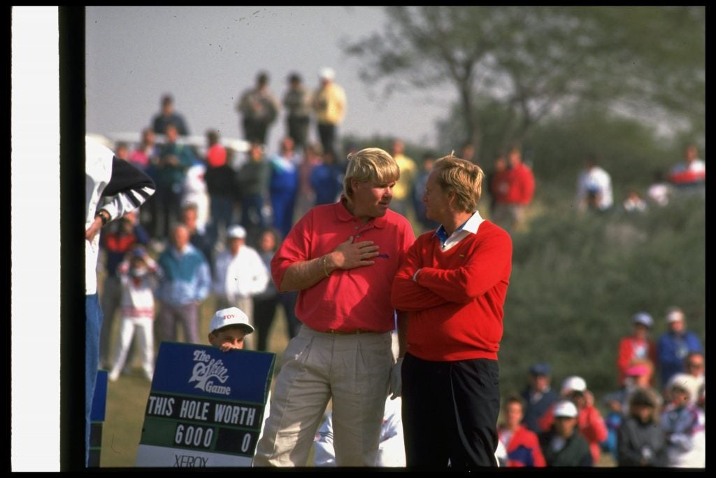 John Daly and Jack Nicklaus