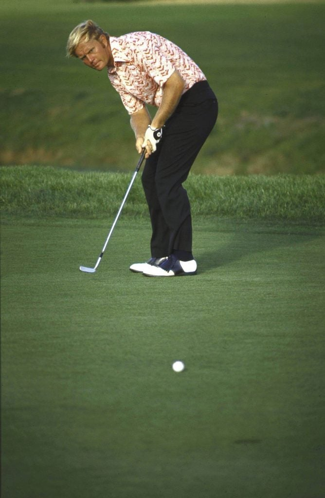 Jack Nicklaus at the 1971 PGA Championship