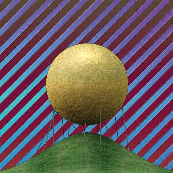 Honorable Mention: Gilded Sphere on Sticks