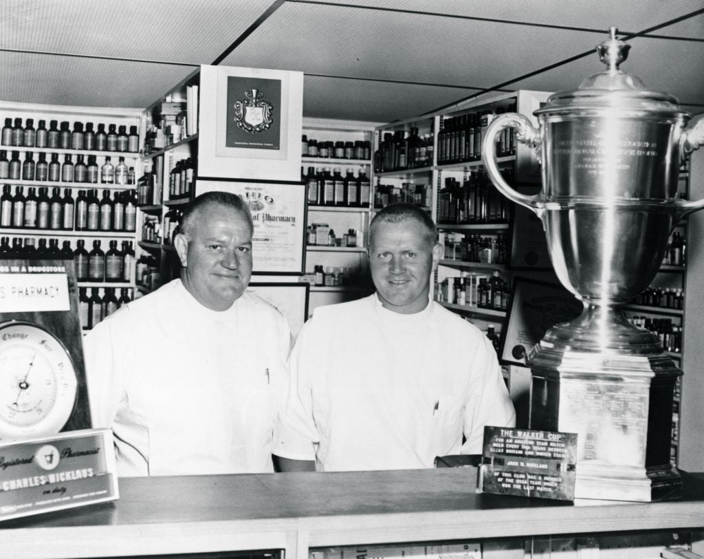 Jack and Charlie Nicklaus