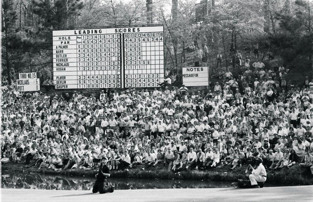 Jack Nicklaus 1964 Masters