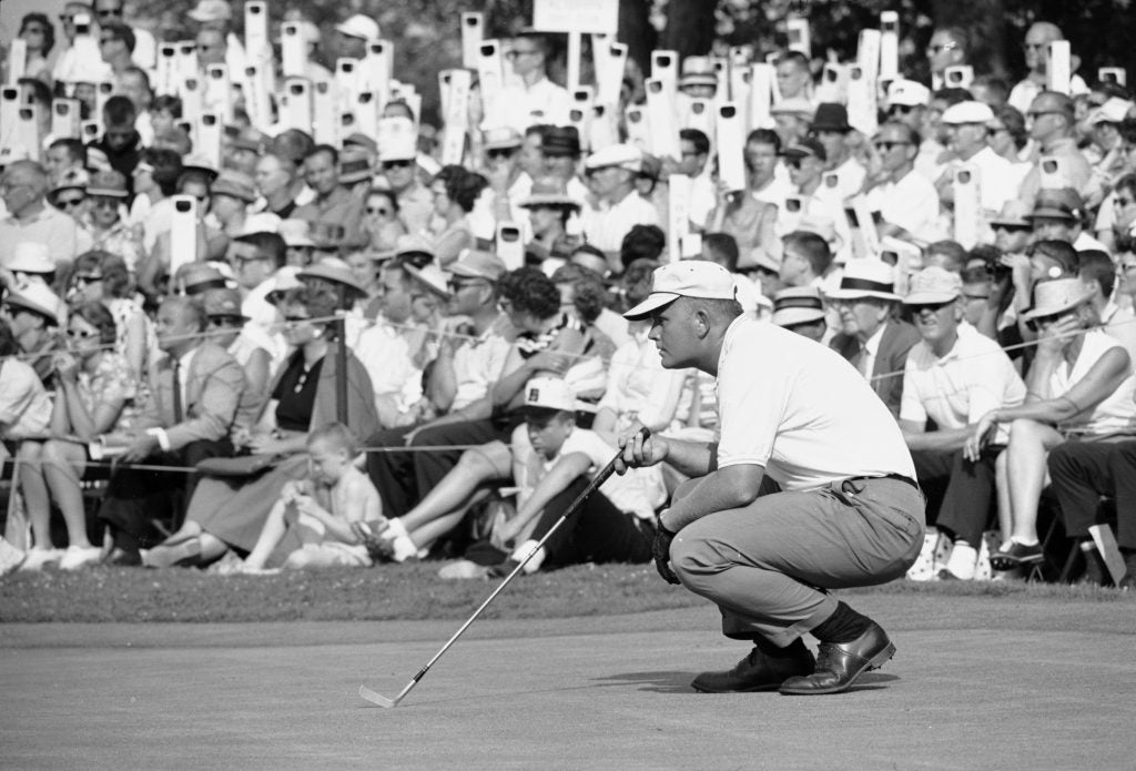 Jack Nicklaus at 1962 U.S. Open