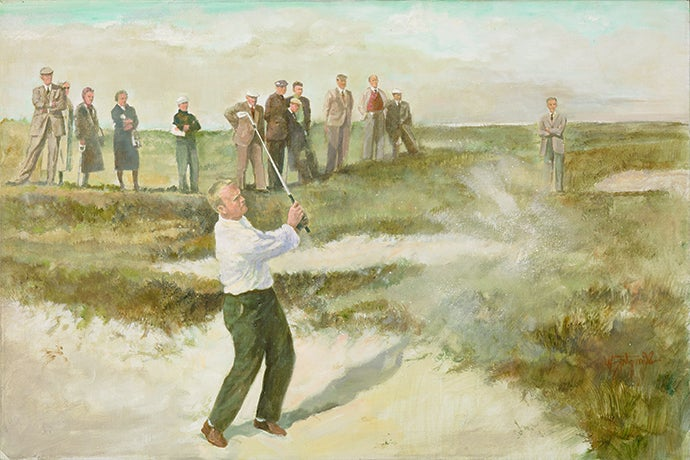 The Champion Golfer of the Year