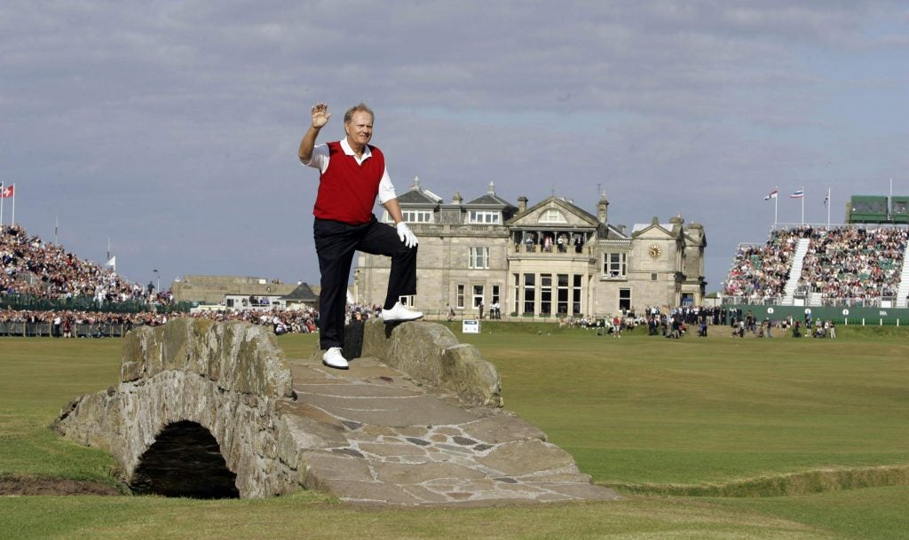 Jack Nicklaus 2005 British Open