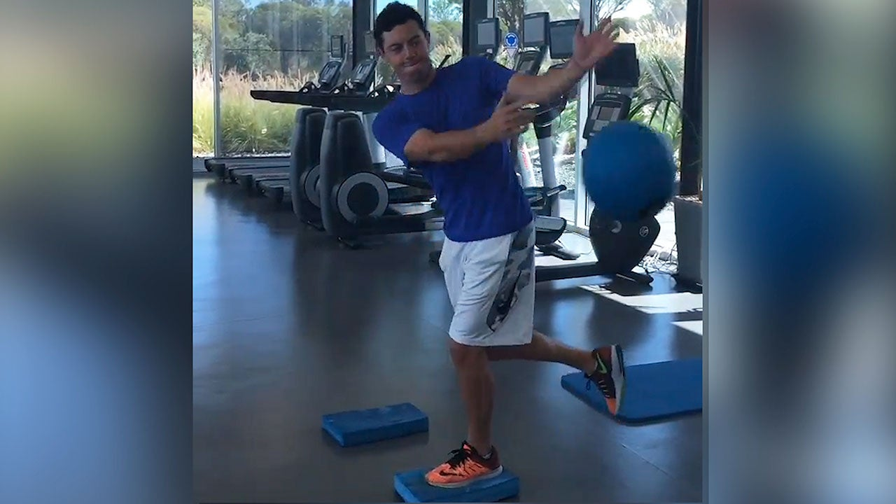 rory mcilroy workout instagram video pga championship
