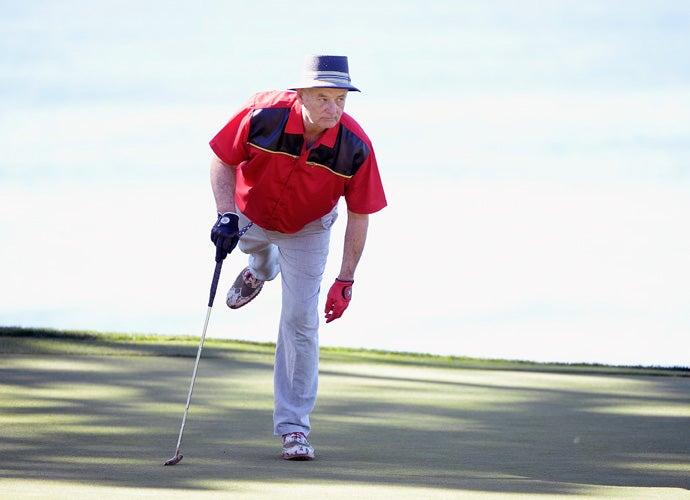 Bill Murray, 2015 AT&T Pebble Beach National Pro-Am