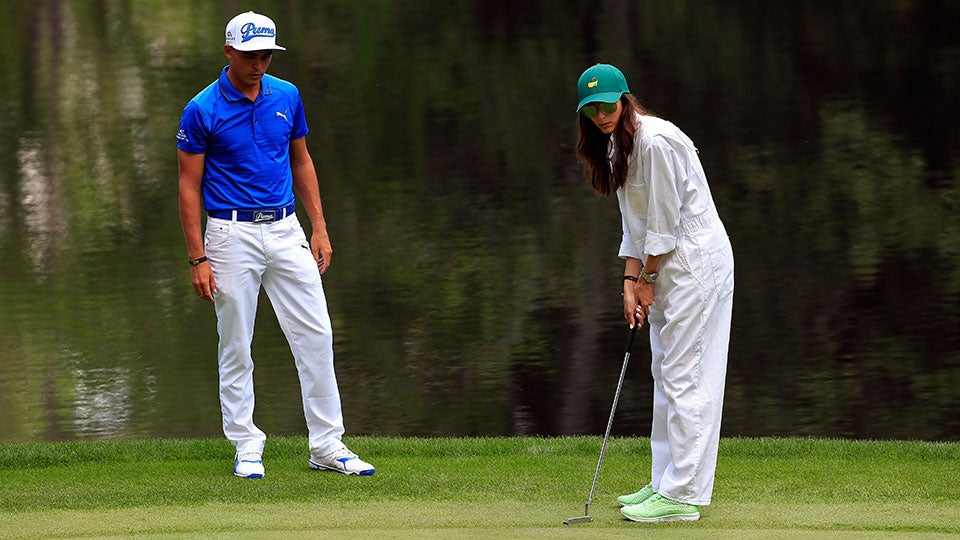 Rickie Fowler and Alexis Randock