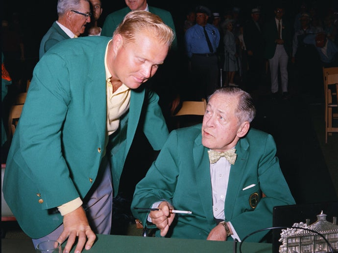 Jack Nicklaus and Bobby Jones