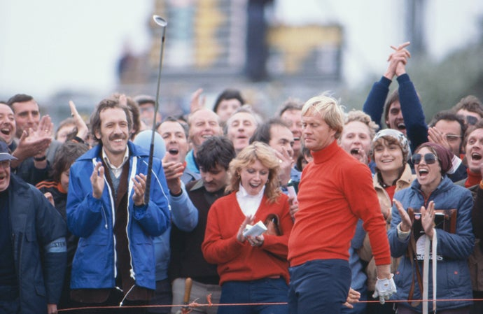 Jack Nicklaus at 1979 British Open