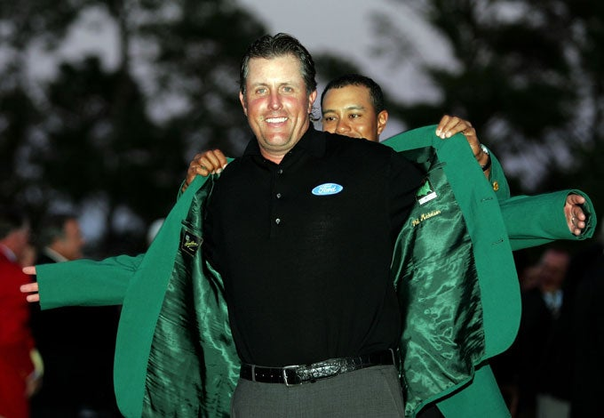 2006: Phil Mickelson