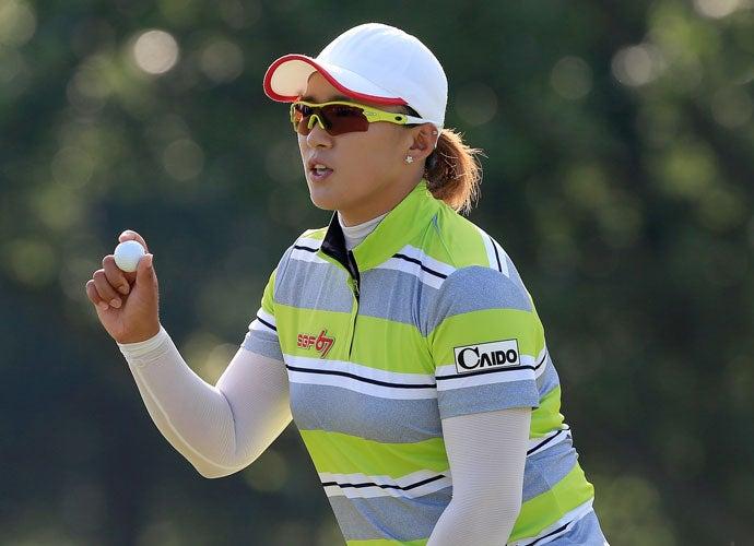 Amy Yang, 2015 U.S. Women's Open, Second Round