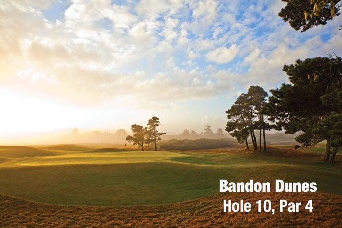 Bandon Dunes: Hole 10, Par 4