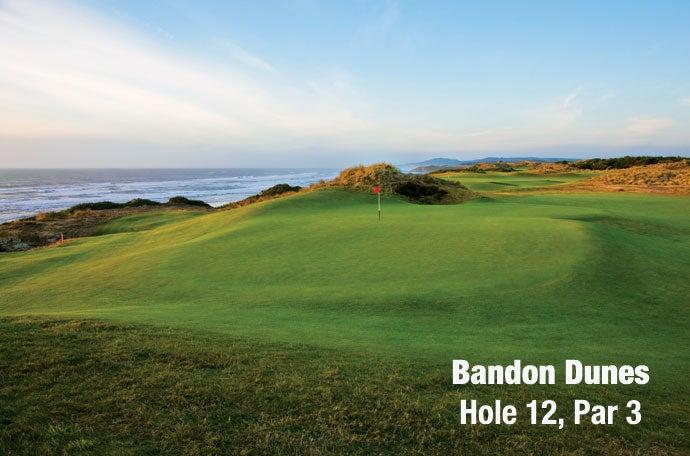 Bandon Dunes: Hole 12, Par 3