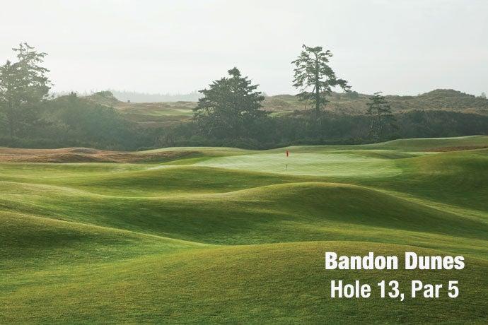 Bandon Dunes: Hole 13, Par 5