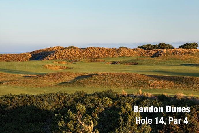 Bandon Dunes: Hole 14, Par 4