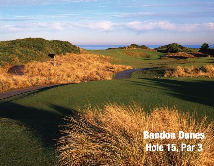 Bandon Dunes: Hole 15, Par 3