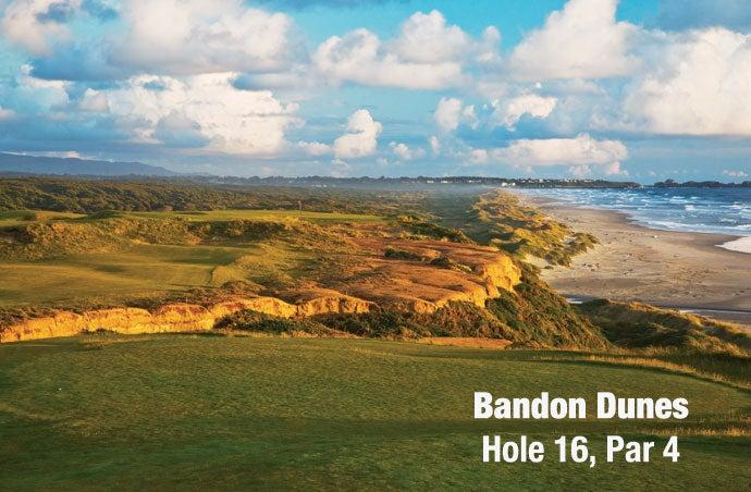 Bandon Dunes: Hole 16, Par 4