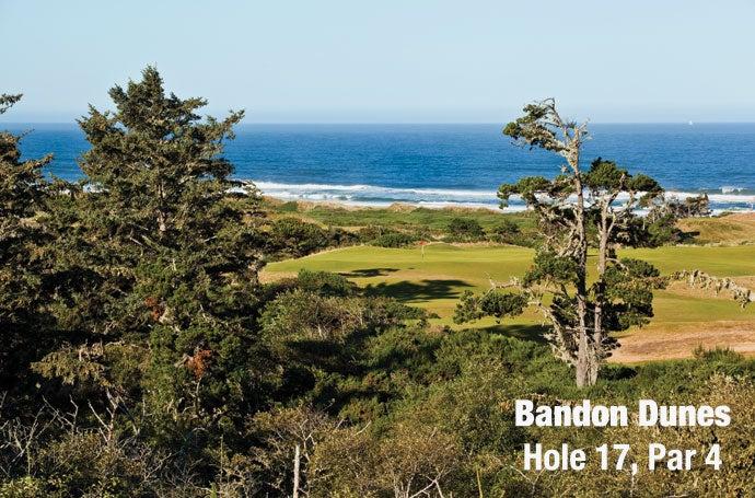 Bandon Dunes: Hole 17, Par 4