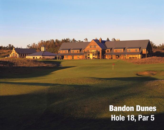 Bandon Dunes: Hole 18, Par 4