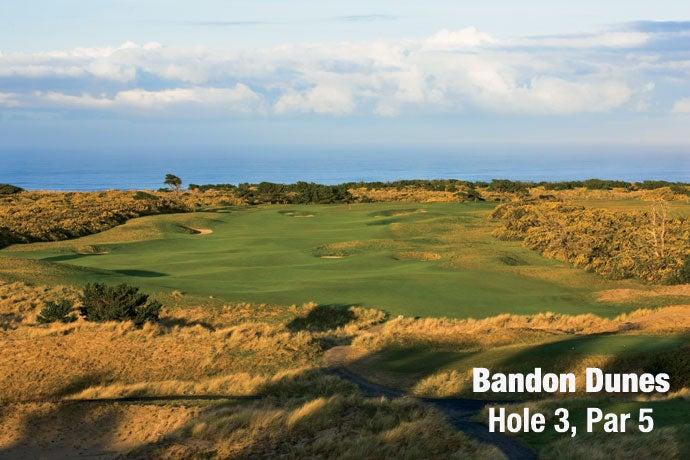 Bandon Dunes: Hole 3, Par 5