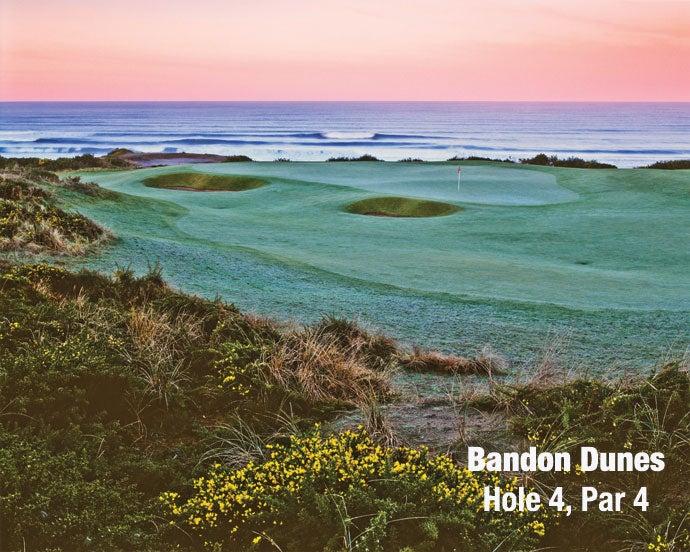 Bandon Dunes: Hole 4, Par 4