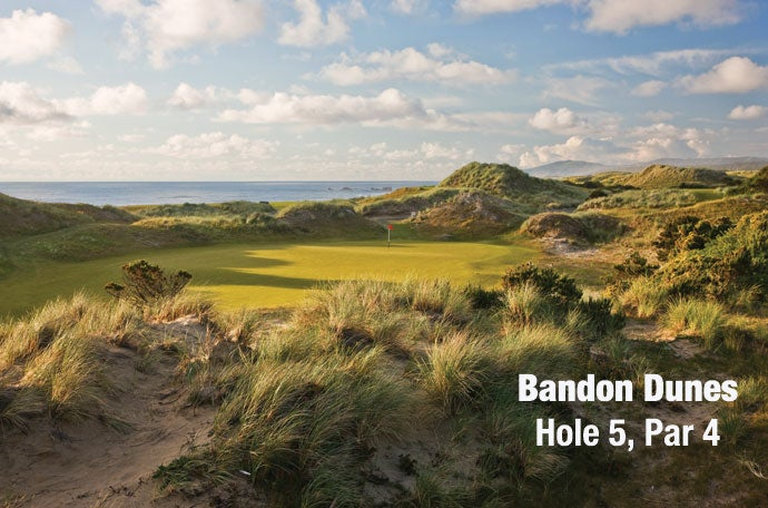 Bandon Dunes: Hole 5, Par 4