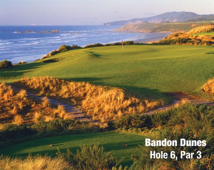 Bandon Dunes: Hole 6, Par 3
