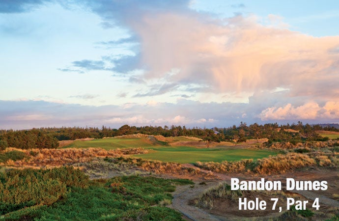 Bandon Dunes: Hole 7, Par 4
