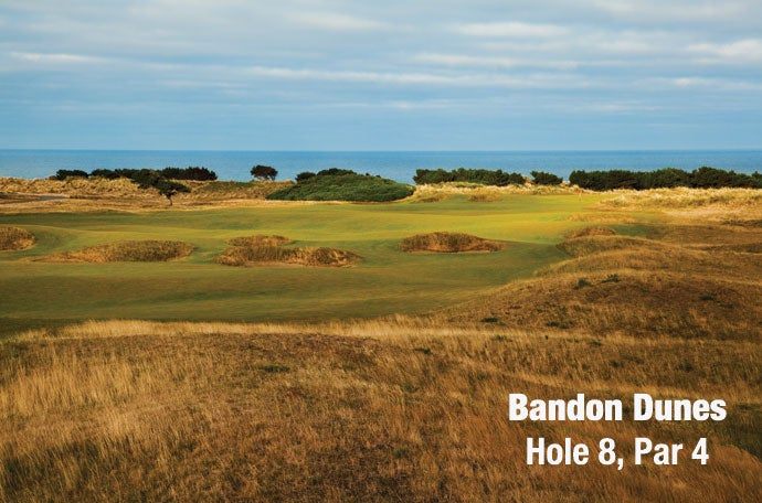 Bandon Dunes: Hole 8, Par 4