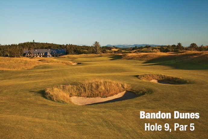 Bandon Dunes: Hole 9, Par 4