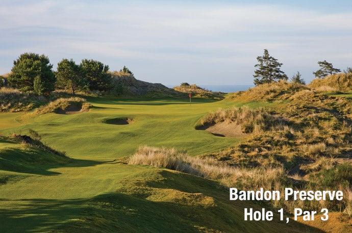 Bandon Preserve: Hole 1