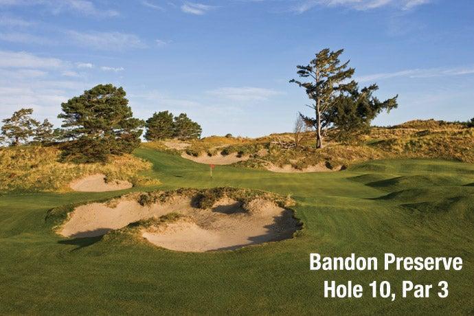 Bandon Preserve: Hole 10, Par 3