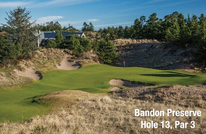 Bandon Preserve: Hole 13