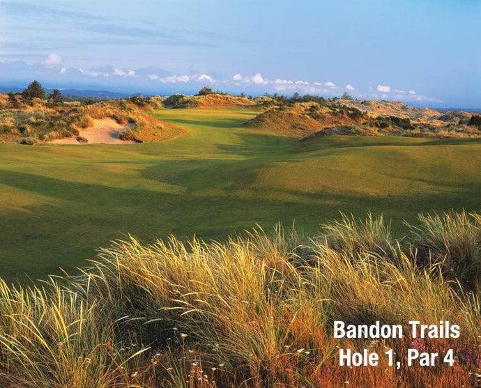 Bandon Trails: Hole 1, Par 4