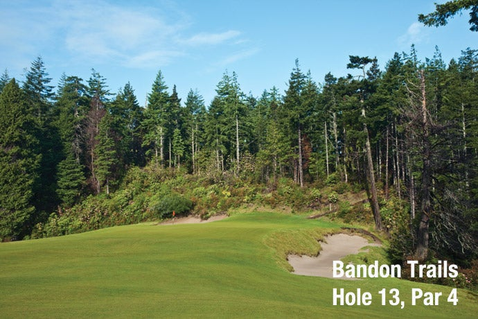 Bandon Trails: Hole 13, Par 4
