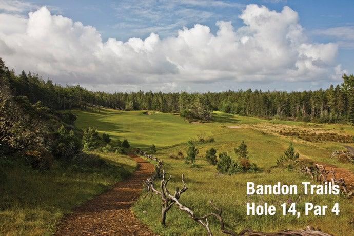 Bandon Trails: Hole 14, Par 4