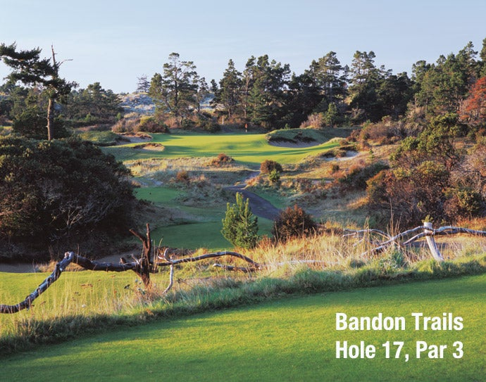 Bandon Trails: Hole 17, Par 3