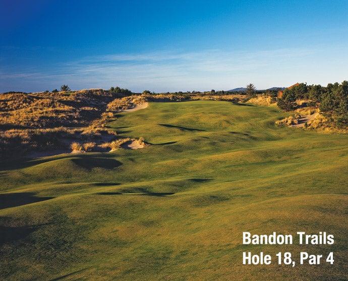 Bandon Trails: Hole 18, Par 4